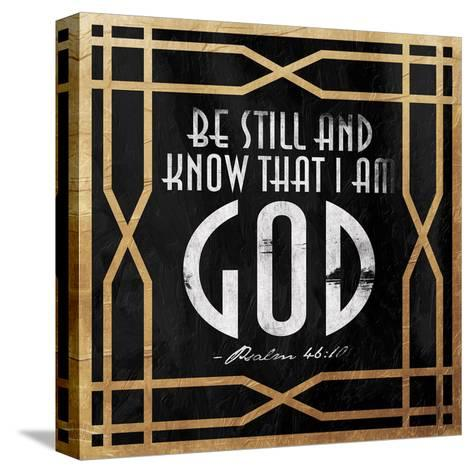 Gold Psalm-Jace Grey-Stretched Canvas Print
