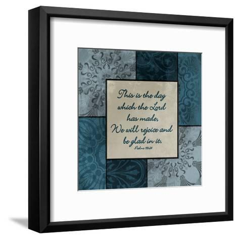 This Is The Day-Jace Grey-Framed Art Print