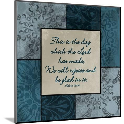 This Is The Day-Jace Grey-Mounted Art Print