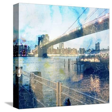 My Magical New York 2-Sheldon Lewis-Stretched Canvas Print