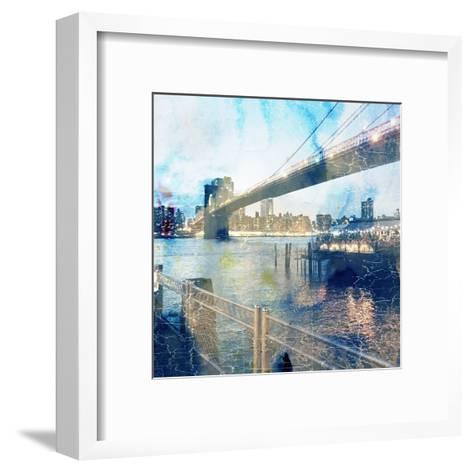 My Magical New York 2-Sheldon Lewis-Framed Art Print