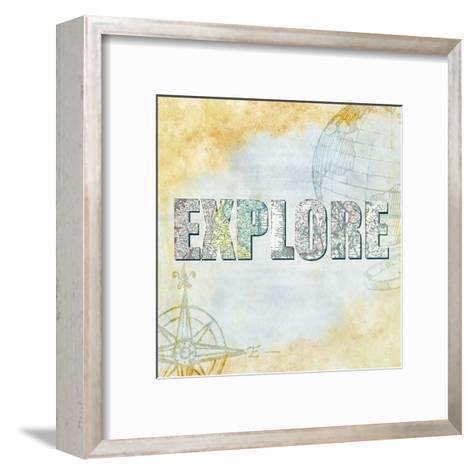 Wander 6-Kimberly Allen-Framed Art Print