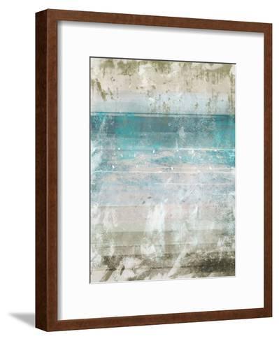 Aqua Space 1 Contemp 1-Cynthia Alvarez-Framed Art Print