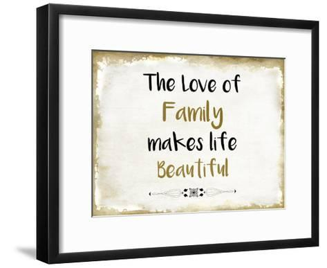 The Love of Family-Kimberly Allen-Framed Art Print