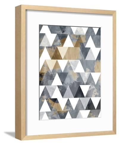 Nuetral Sky Windows-OnRei-Framed Art Print