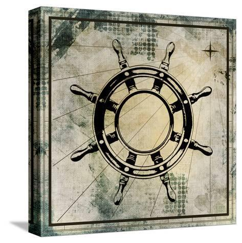 Nautical Gold 3-Kimberly Allen-Stretched Canvas Print