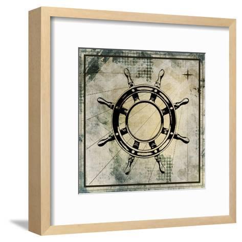 Nautical Gold 3-Kimberly Allen-Framed Art Print