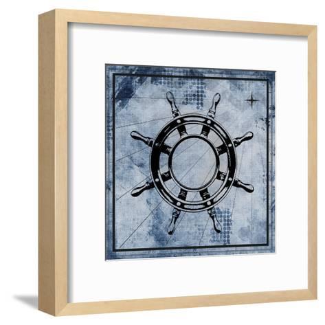 Nautical 3-Kimberly Allen-Framed Art Print