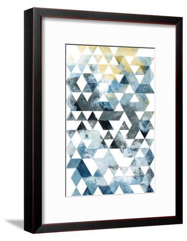 Grey day-OnRei-Framed Art Print