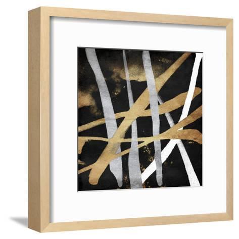 Golden Links-OnRei-Framed Art Print