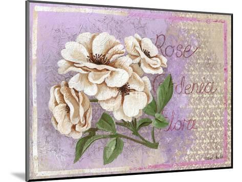 Gardenia-May May-Mounted Art Print