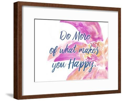 Do More-Kimberly Allen-Framed Art Print