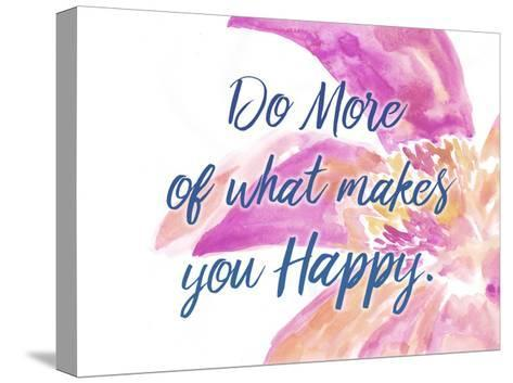 Do More-Kimberly Allen-Stretched Canvas Print