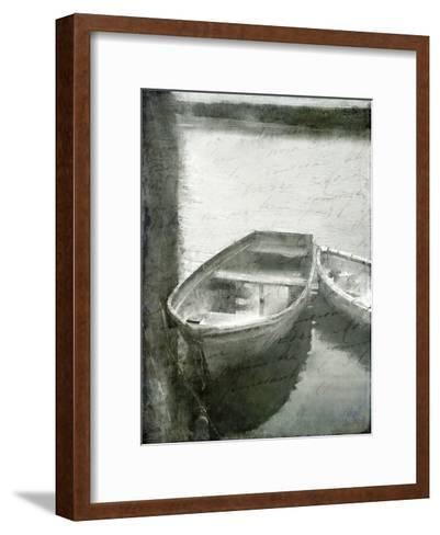 On the Water-Kimberly Allen-Framed Art Print