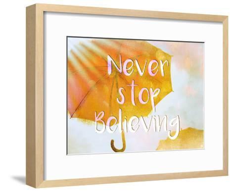 Never Stop-Kimberly Allen-Framed Art Print