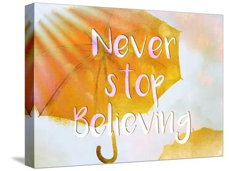 Never Stop-Kimberly Allen-Stretched Canvas Print