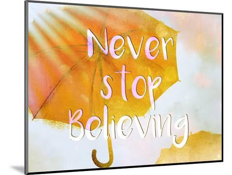 Never Stop-Kimberly Allen-Mounted Art Print