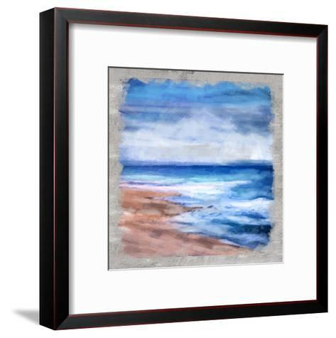Waves Layered-Cynthia Alvarez-Framed Art Print