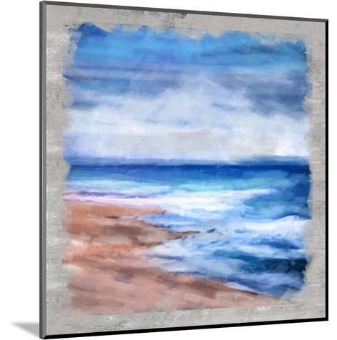 Waves Layered-Cynthia Alvarez-Mounted Art Print