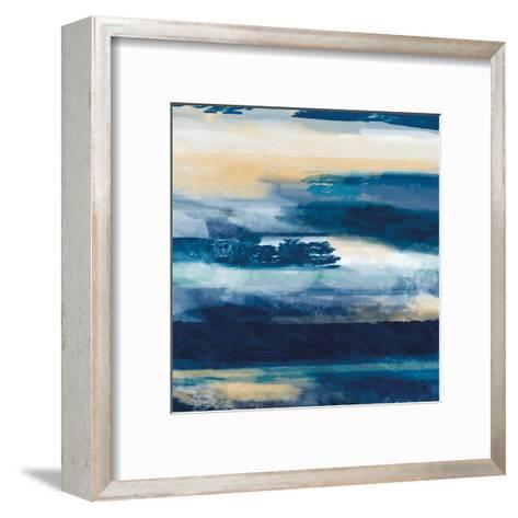 War On The Sea 1-Cynthia Alvarez-Framed Art Print