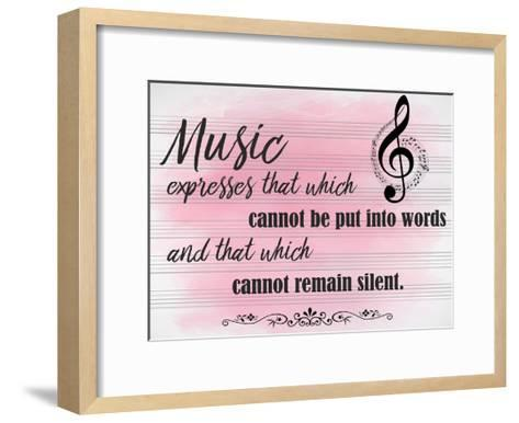 Music Expresses-Kimberly Allen-Framed Art Print