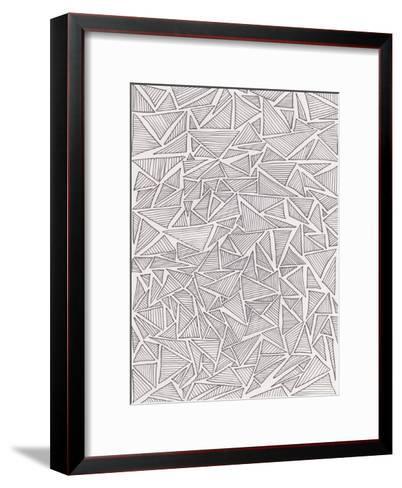 Triangle Jungle 2-Pam Varacek-Framed Art Print