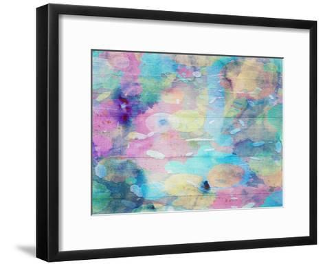 Vibrant Abstract-Sheldon Lewis-Framed Art Print