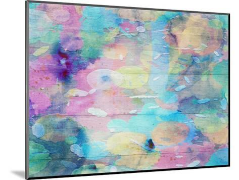 Vibrant Abstract-Sheldon Lewis-Mounted Art Print