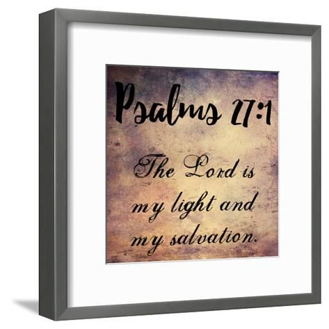 My Light And My Salvation-Sheldon Lewis-Framed Art Print