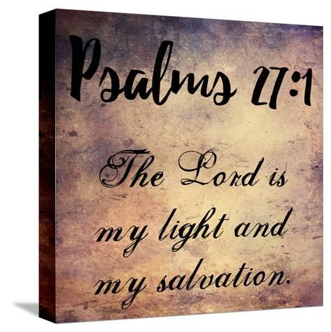 My Light And My Salvation-Sheldon Lewis-Stretched Canvas Print