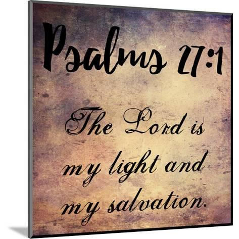 My Light And My Salvation-Sheldon Lewis-Mounted Art Print