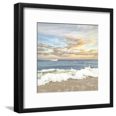 Dawn Of The Crashing Waves-Joseph Rowland-Framed Art Print