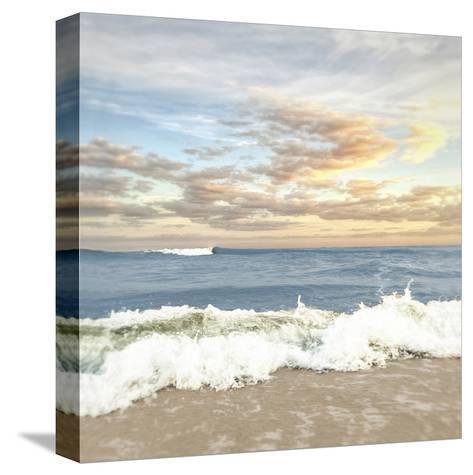 Dawn Of The Crashing Waves-Joseph Rowland-Stretched Canvas Print