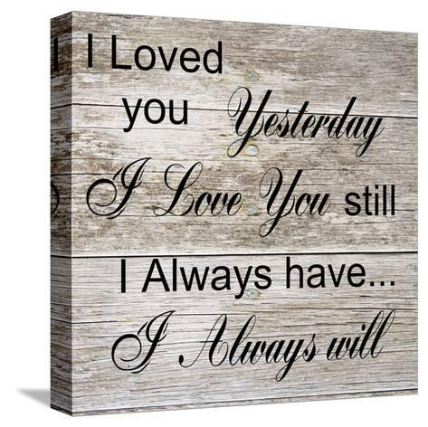 I Always Will-Sheldon Lewis-Stretched Canvas Print