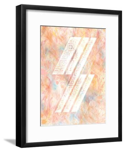 Color Design 2-Kimberly Allen-Framed Art Print