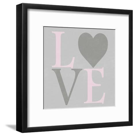 Love From The Heart 1-Sheldon Lewis-Framed Art Print