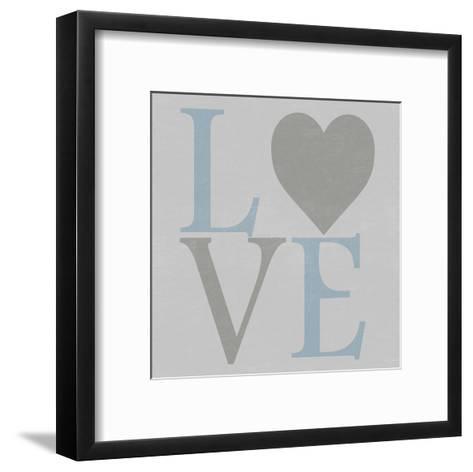 Love From The Heart 2-Sheldon Lewis-Framed Art Print