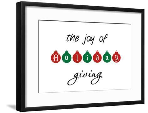 Holiday Ornaments-Marcus Prime-Framed Art Print