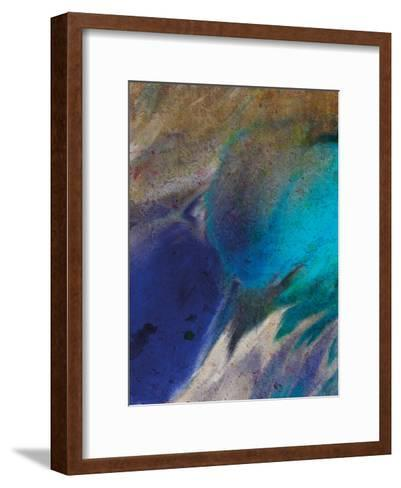 In the Blue 2-Kimberly Allen-Framed Art Print
