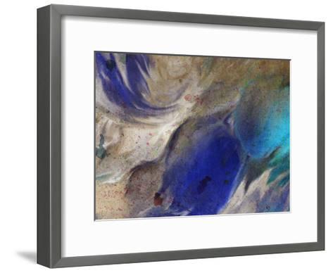 In the Blue 3-Kimberly Allen-Framed Art Print