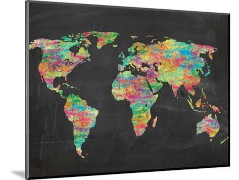 World Chalk Kids-Lauren Gibbons-Mounted Art Print