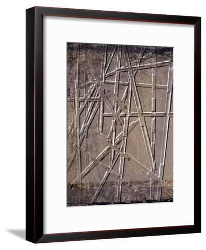 Wooden Sticks 2-Kimberly Allen-Framed Art Print