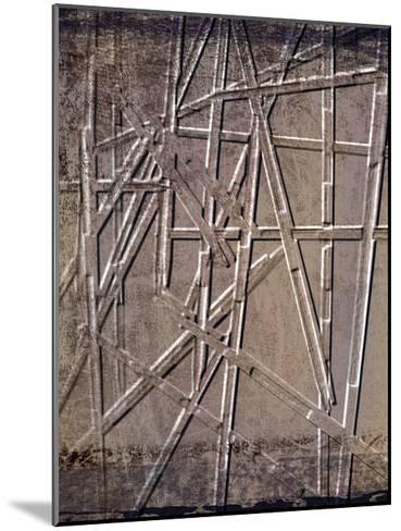 Wooden Sticks 2-Kimberly Allen-Mounted Art Print