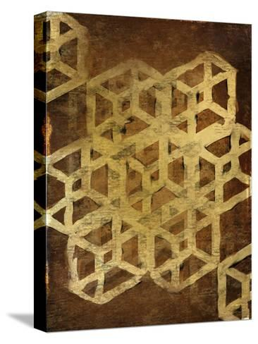 Geo Gold 1-Kimberly Allen-Stretched Canvas Print