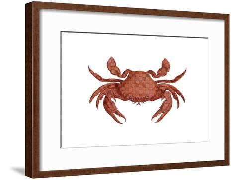 Crustation Pattern 2-Sheldon Lewis-Framed Art Print