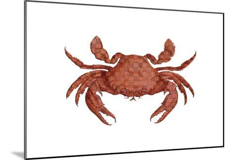 Crustation Pattern 2-Sheldon Lewis-Mounted Art Print