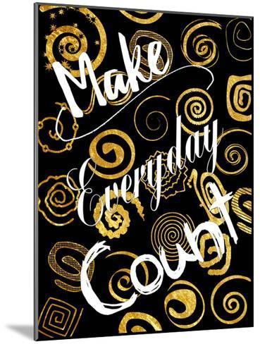 Everyday Is Golden-Sheldon Lewis-Mounted Art Print