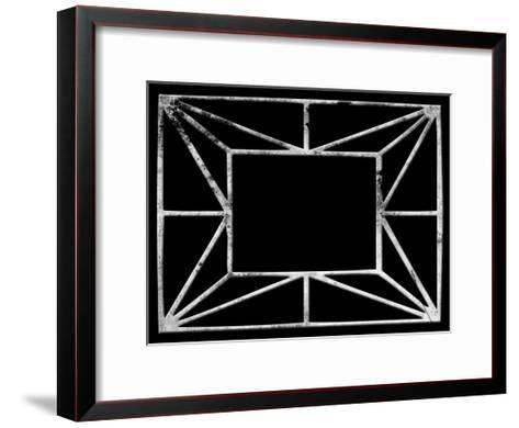 Transitional Geo-Sheldon Lewis-Framed Art Print