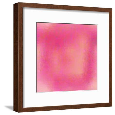 Pretty in Pink pattern 2-Kimberly Allen-Framed Art Print