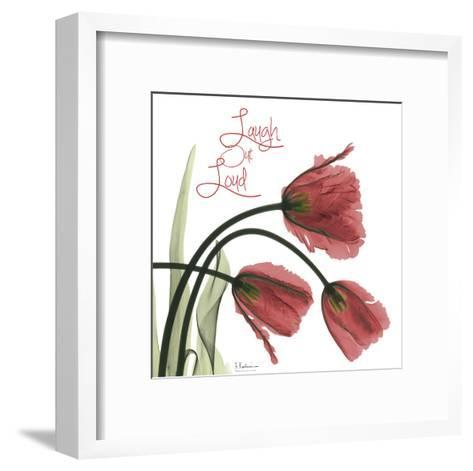 Laugh Out Loud Tulips L83-Albert Koetsier-Framed Art Print